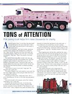 Gazzola Paving and the Pink Truck Article